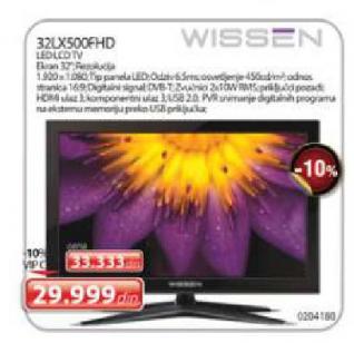 LED TV WISSEN 32LX500FHD