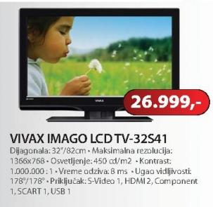 """Televizor 32"""" LCD 32S41"""