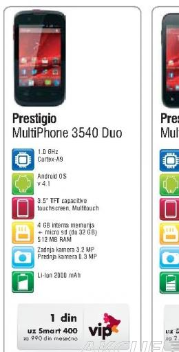 Mobilni Telefon MultiPhone 3540 DUO
