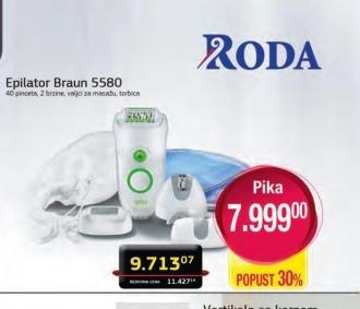 Epilator EE 5580