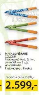 Baštenske makaze Fiskars Colour