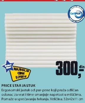 Jastuk Price Star