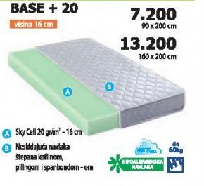 Dušek Base+20 90x200cm