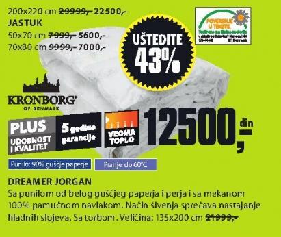 Jorgan Dreamer 200x220