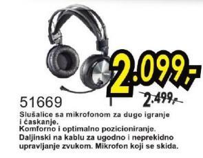 Slušalice 51669