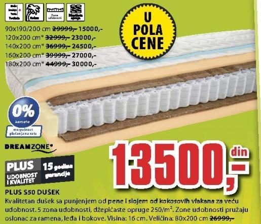 Dušek Plus S50