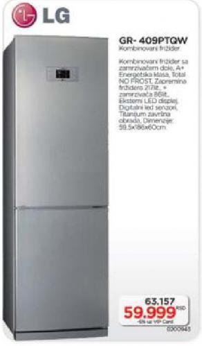 Gr 409Pt Qw Kombinovani Frižider