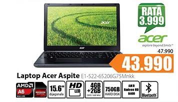 Laptop Aspire E1-522-65206G75Mnkk