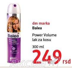 Lak za kosu Power Volume