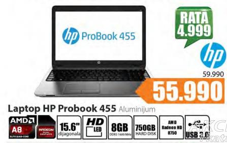 Laptop Probook 455 Aluminijum