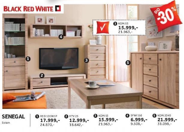 Regal Reg1d1w1p Senegal Black Red White