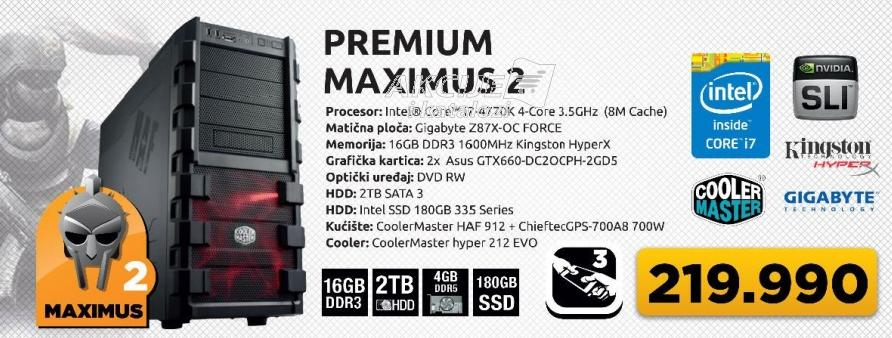 Desktop računar Premium Maximus 2