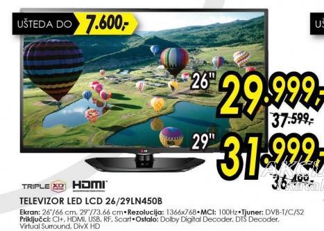 """Televizor LED 29"""" 29ln450b"""