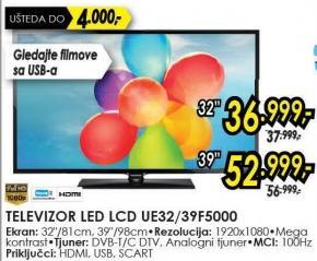 "Televizor LED 32"" Ue32f5000"