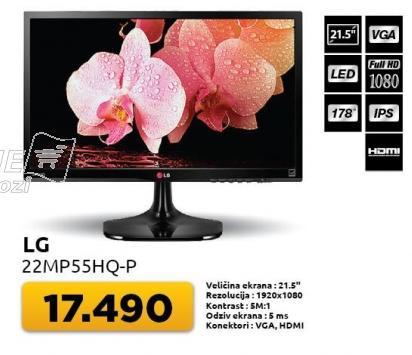 """Monitor 21,5"""" 22mp55hq-p"""
