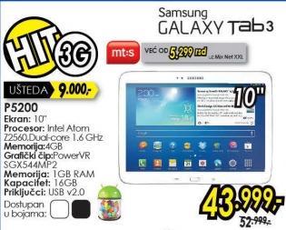 Tablet Galaxy Tab3 10.1 P5200