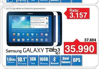 Tablet Galaxy Tab 3 5210 B 10.1