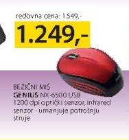 Miš bežični NX-6500