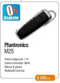 Bluetooth slušalica M25