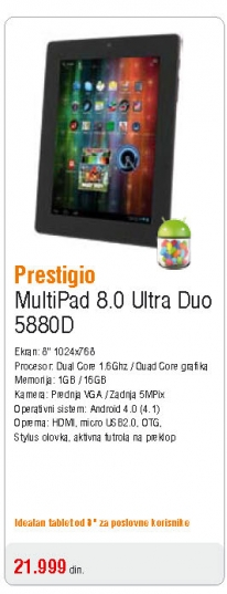 Multipad 8,0 Ultra Duo 5880D