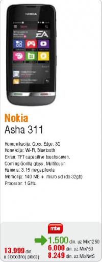 Asha 311