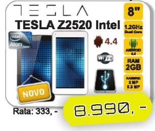 Tablet Tesla Z2520 Intel