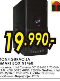 Desktop računar Smart Box konfiguracija N1460