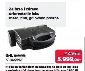 Gril KR 1800 KDP