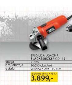 Brusilica Ugaona CD 115