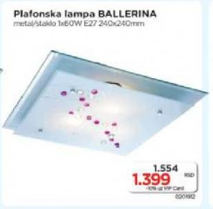 Plafonska lampa Ballerina