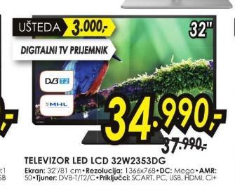 Televizor LED 32W2353DG