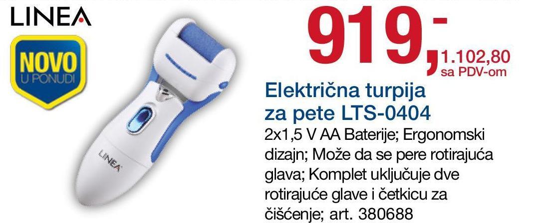 Električna turpija LTS-0404