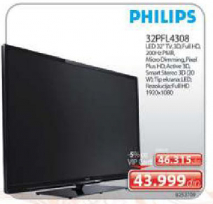 LED Televizor 32PFL4308