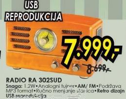 Radio RA-302SUD