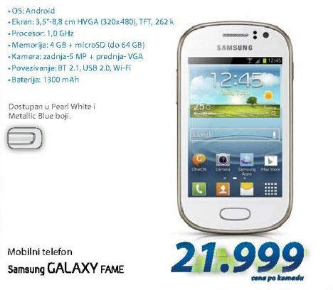 Mobilni Telefon S6810 GALAXY FAME W