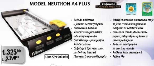 Rezač papira Neutron A4 Plus