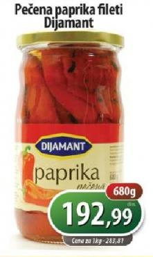 Paprika crvena fileti