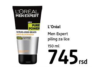 Men Expert piling za lice