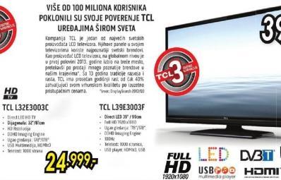 Televizor LED 32 L32e3003c