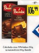 Čokolada crna narandža