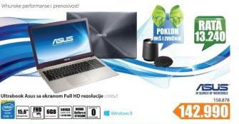 Laptop Ultrabook U500VZ-CN089H