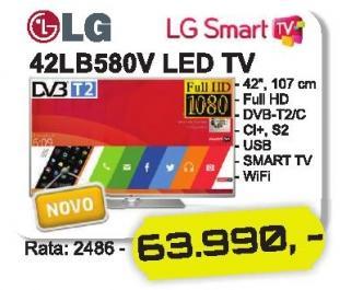 """Televizor LED 42"""" 42lb580v"""