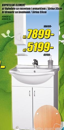 Ormarić sa lavaboom