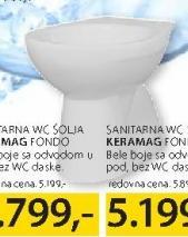 WC šolja Keramag Fondo