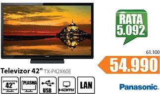 """Televizor TV 42"""" Plasma TV TX-P42X60E"""