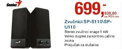 Zvučnici SP-S110/SP-U110