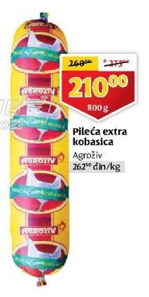 Kobasica pileća extra
