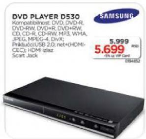 DVD plejer D530