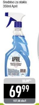 Sredstvo za čišćenje staklenih površina April