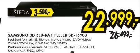 3D Blu-Ray plejer BD-F6900
